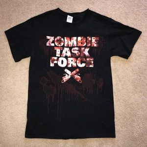 Zombie Task Force T-Shirt Horror Tee